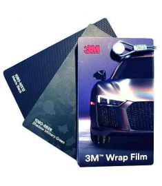 3M Wrap Film Color Card