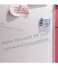 Aslan FF 550 Magnetische Whiteboard Folie breedte 101cm