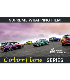 Avery Supreme Wrapping Film ColorFlow Gloss