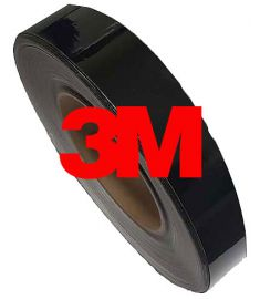 De-Chroming Tape 3M Black Gloss breedte 5cm