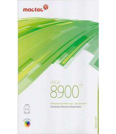 MacTac 8900 Gloss White-Black 123cm