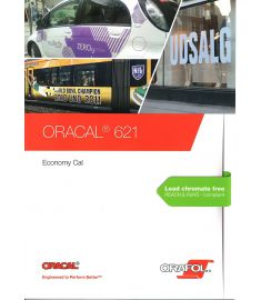 Oracal 621 White-Black-Transparent 126cm