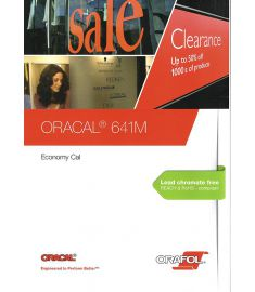 Oracal 641 MAT Black-White-Transparant 126cm
