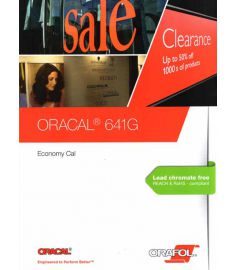 Oracal 641 GLOSS Colors + Black 126cm