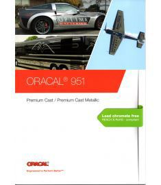 Oracal 951 White-Black-Transparent 126cm