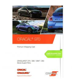 Oracal 970 White-Black Gloss