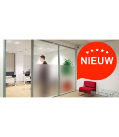 Reflectiv INT 420 Frosted with 2 stripes breedte 152cm
