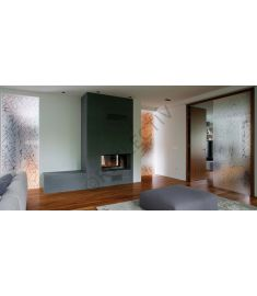 Reflectiv INT 520 Broken glass frosted breedte 152cm
