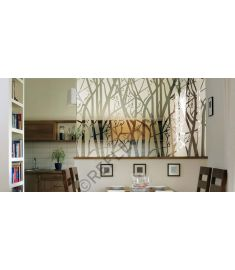 Reflectiv INT 530 Frosted trees breedte 152cm