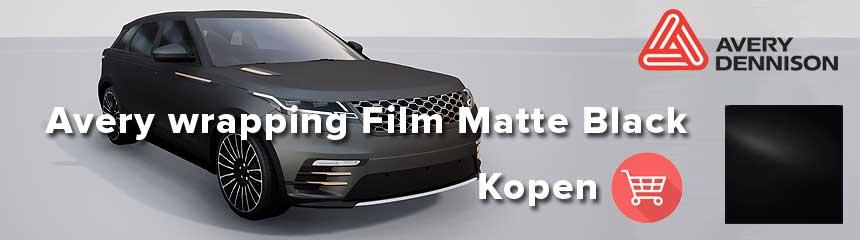 Avery Supreme wrapping film Matte Black